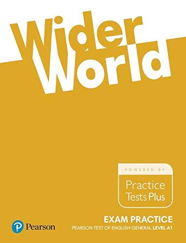 Wider world exam practice: Pearson tests of english general level foundation. Per le Scuole superiori. Con espansione online