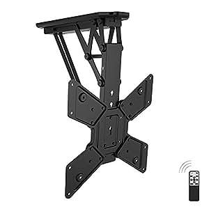 brateck support tv plafond motoris high tech. Black Bedroom Furniture Sets. Home Design Ideas