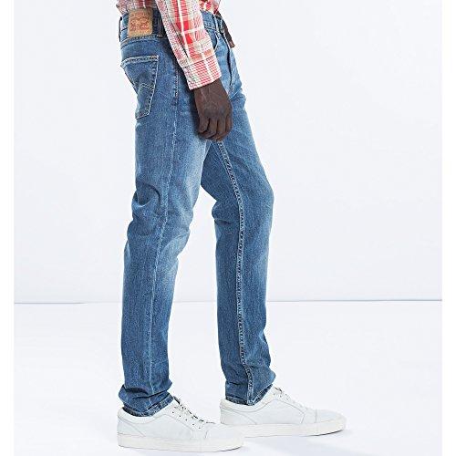 Levi's Homme 512 Tanager fuselés Slim Fit Jeans, Bleu tanager