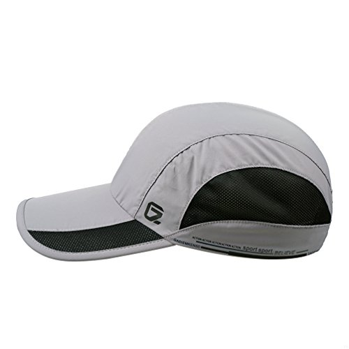 GADIEMENSS Quick Dry Sports Hat Lightweight Breathable Soft Outdoor Running  Cap (Classic UP afd7ebc213f