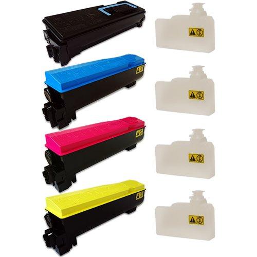 Preisvergleich Produktbild Doitwiser ® Kyocera Mita TK560 P6030CDN FS-C5300DN FS-C5350DN Kompatible Toner Set Hohe Seitenleistung - TK-560K TK-560C TK-560M TK-560Y