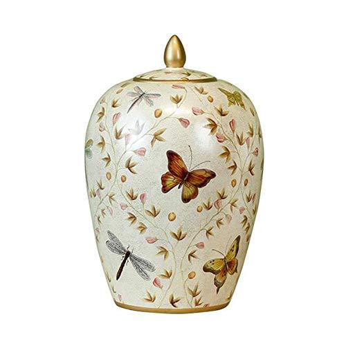 NWZW Commemorare Ceneri di Cremazione Poynton Classico,Produzione Ceramica Artigianale,Adatto per Il Posizionamento o la Sepoltura a Casa,Ceramics