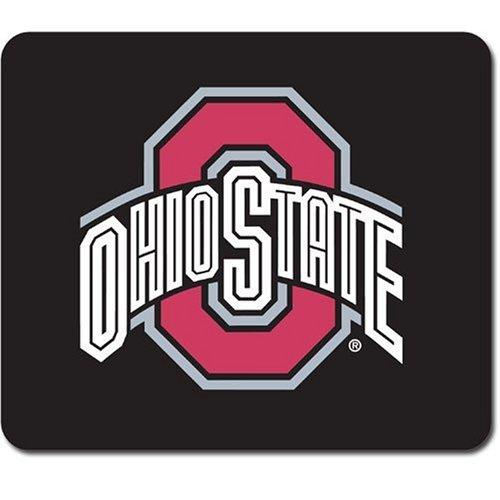 Siskiyou NCAA Neopren-Mauspad, Jungen Damen Mädchen Unisex Herren, Ohio State Buckeyes, 9
