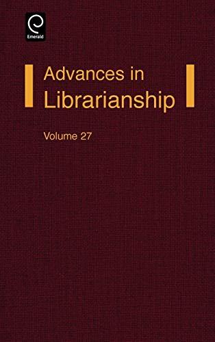 Advances in Librarianship: v. 27