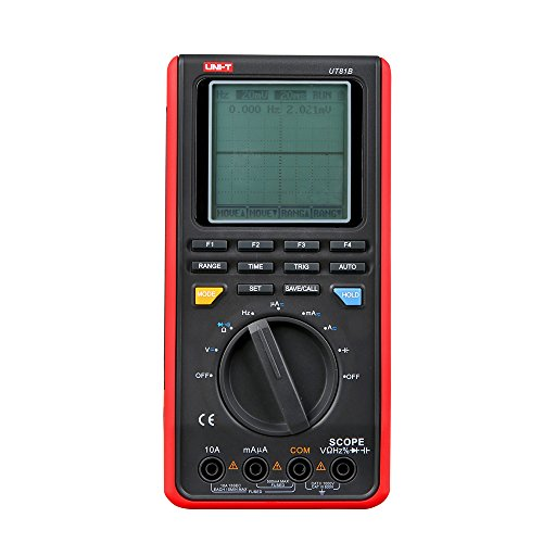 Labloot UNI-T UT81B Hand-Multimeter, Digital-Oszilloskop, LCD-Display
