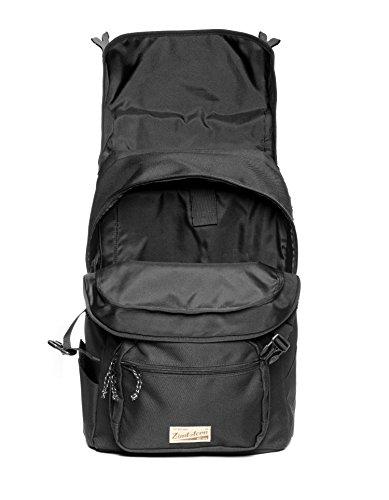 Zimtstern Backpack Coverz, Unisex, Back Pack Coverz, nero, Taglia unica nero