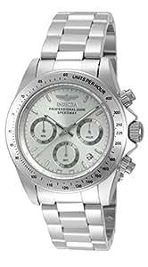 Invicta Speedway - 14381 Orologio da Polso, Cronografo, Uomo, Cinturino Acciaio Inossidabile, Argento
