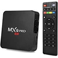 VIBOTON MXQ Pro 4K Android TV Box with 2GB RAM/16GB ROM 64Bit Quad Core Wi-Fi UHD Smart TV Box (Best for Normal Use Otherwise Hanging Issue)