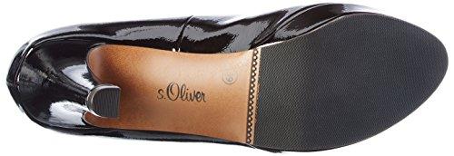 s.Oliver Damen 22400 Pumps Schwarz