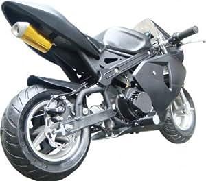 Tuning Pocket Bike 49cc Matt mit Extra Seilzug