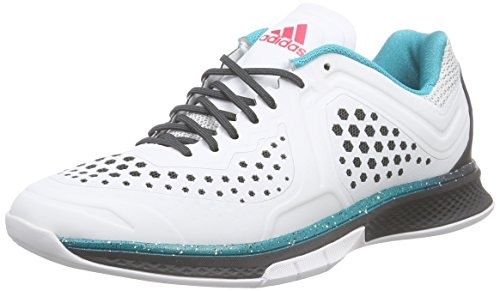adidas Performance Damen Adizero Counterblast 7 Handballschuhe Weiß (Crystal White S16/Dgh Solid Grey/Shock Red S16) 36 2/3 EU