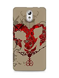 Amez designer printed 3d premium high quality back case cover for Lenovo Vibe P1M (La mecanique du coeur)