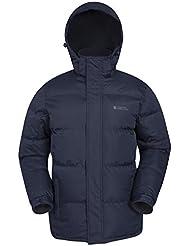Mountain Warehouse Chaqueta acolchada Snow para hombre