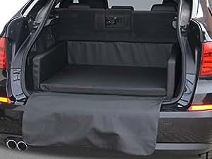 autoschondecke kofferraum schutzdecke auto hundebett in schwarz kunstleder. Black Bedroom Furniture Sets. Home Design Ideas