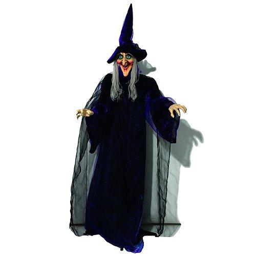Euro Palms 8331440D Halloween Figur Hexe, animiert (Animierte Figuren Halloween)