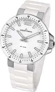 Jacques Lemans Damen-Armbanduhr XS Milano Analog Silikon 1-1707B