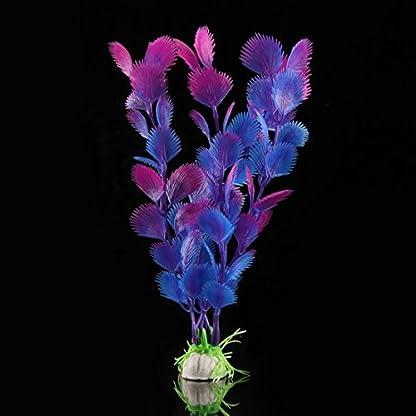 Artificial Water Plants Fake Plant Aquarium Decor New Fish Tank Plastic Ornaments 2