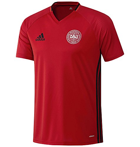2016-2017 Denmark Adidas Training Jersey (Red)