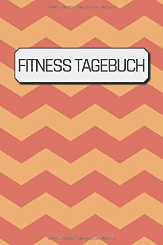 Fitness Tagebuch: Fitnessstudio Tagebuch um Übungen, Wiederholungen und Sätze zu erfassen | ca. DIN A5 mit 100 Seiten zum Ausfüllen | Fürs Fitnessstudio, Krafttraining & 90 Tage Challenge
