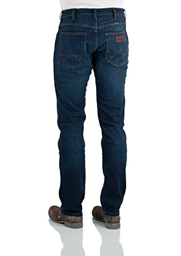Wrangler Herren Straight Leg Jeanshose Arizona Stretch Blau (Climate Right 49W)