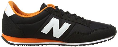 New Balance U396v1, Baskets Homme Noir (Black/Orange/White)