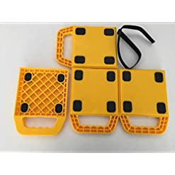 Katsu caravan jack Pads stabilizzatore con gomma antiscivolo