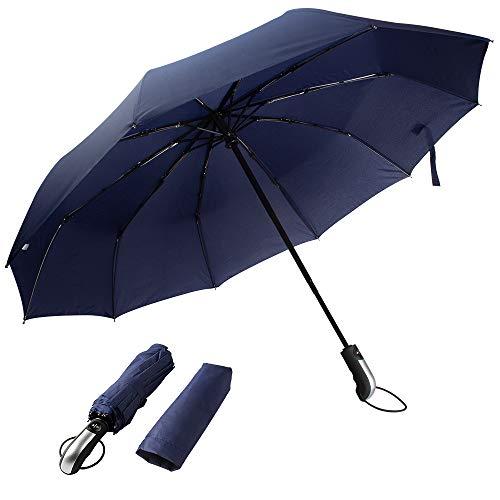 Paraguas automático Resistente Viento Paraguas Viaje