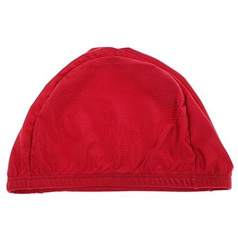 MagiDeal Bonnets de Bain en Nylon Élastique pour Adultes et Adolescences Caps Chapeau de Cheveux