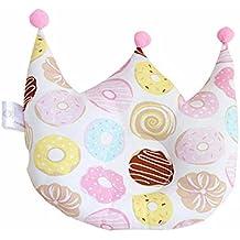 TRULIL - Almohada para bebé con Forma ortopédica, algodón Transpirable, cojín de Dormir,