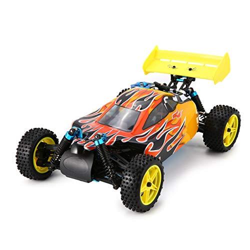 Ballylelly-94166 1/10 Scale 2.4G 4WD Gas Nitro Power Off Road Buggy RC Autos LKW RTR Spielzeug Fernbedienung Fahrzeug mit 70km / h hohe Geschwindigkeit (Gas-offroad)