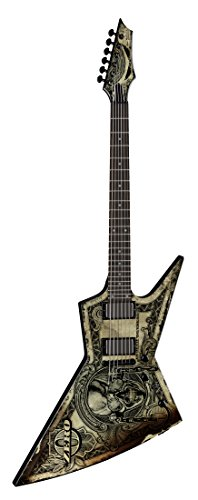 Dean Guitars ZERO TRUST  Dave Mustaine - In Deth We Trust schwarz