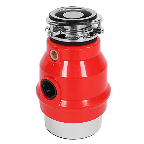 3 / 4HP Eliminador de Residuos de Cocina Seguro, Triturador de Basura Comida, Trituradora de Desperdicios de Alimentos (Enchufe de la UE)