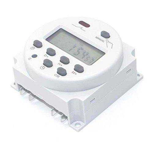 Preisvergleich Produktbild EMOTREE DC/AC 12V LCD Digital-Display Haushaltsgerät Zeitschaltuhr 16A Programmierbar Timer