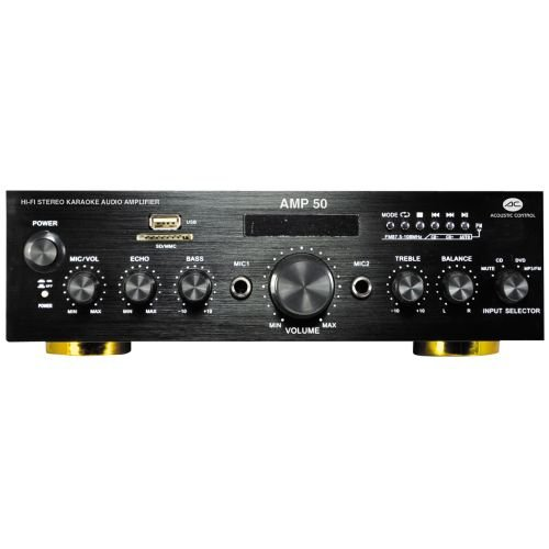 Acoustic Control AMP 50 Amplificador MP3 FM