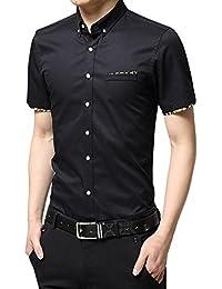 none branded - Camisa casual - para hombre LLyy0b