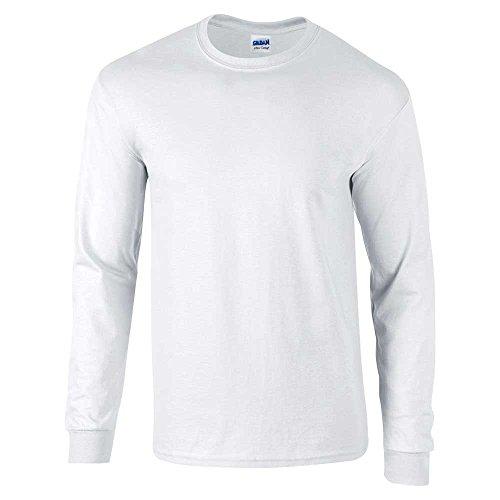 GILDANHerren T-Shirt Grau - Ash