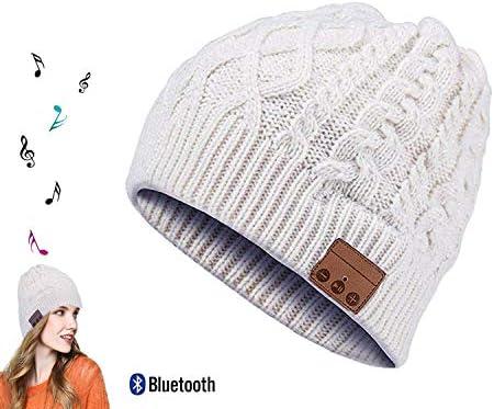 ORPERSIST blutooth Cappello Auricolare blutooth blutooth blutooth Cappello Smart blutooth Music Hat Wireless Bianco Grigiastro | Conosciuto per la sua buona qualità  | Molti stili  f8320d