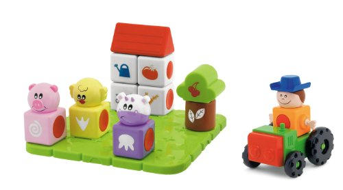 Chicco Magic Blocks Stacking Toy, Farm
