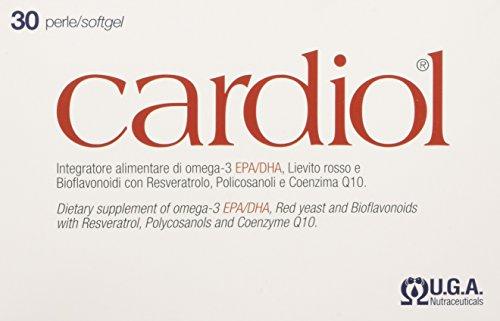Cardiol  -  Integratore per il Colesterolo con Omega-3,...