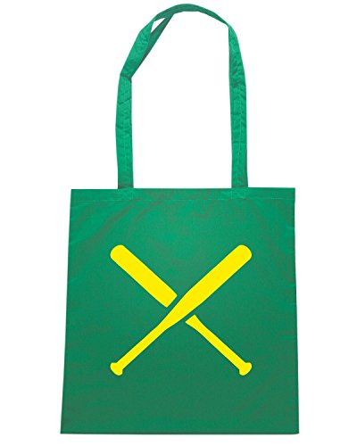 T-Shirtshock - Borsa Shopping SP0136 Two Pitchers Maglietta Verde