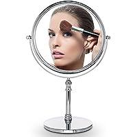 cosprof (diámetro 10x lupa con dos cara tocador maquillaje espejo–mejor para baño o dormitorio mesa