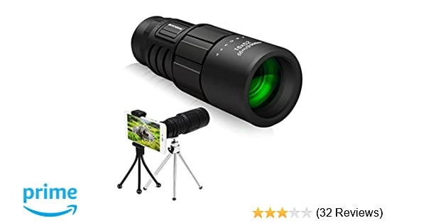 Monokular scope 16 x 52 sgodde hohe leistung hd militärische mini