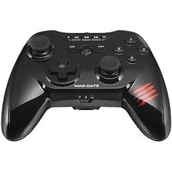 Mad Catz - GamePad C.T.R.L.R., Color Negro Brillante (GameSmart/PC/Mac)