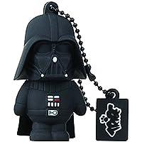 Tribe FD007401 Disney Star Wars Pendrive 8 GB Simpatiche Chiavette USB Flash Drive 2.0 Memory Stick Archiviazione Dati, Portachiavi, Darth Vader (Dart Fener),
