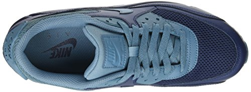 Nike Air Max 90 Essential, Scarpe da Ginnastica Uomo Blu (Midnight Navy/Smokey Blue/Midnight Navy)