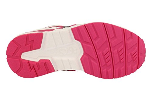Asics Gel-Lyte V PS, Baskets Mode Fille Blanc