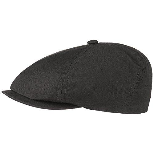 brooklin-canvas-cotton-flat-cap-stetson-cotton-cap-ivy-hat-m-56-57-black