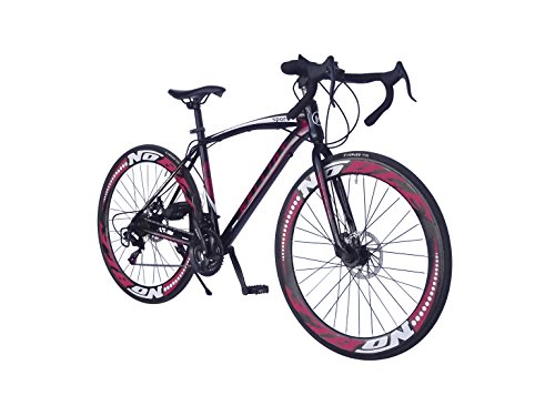 Helliot Bikes Helliot Sport 01, Unisex Adulto, Negra, M-L