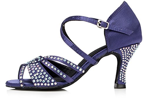 TDA - Peep-Toe donna Purple Blue