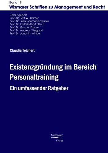 Existenzgruendung im Bereich Personaltraining